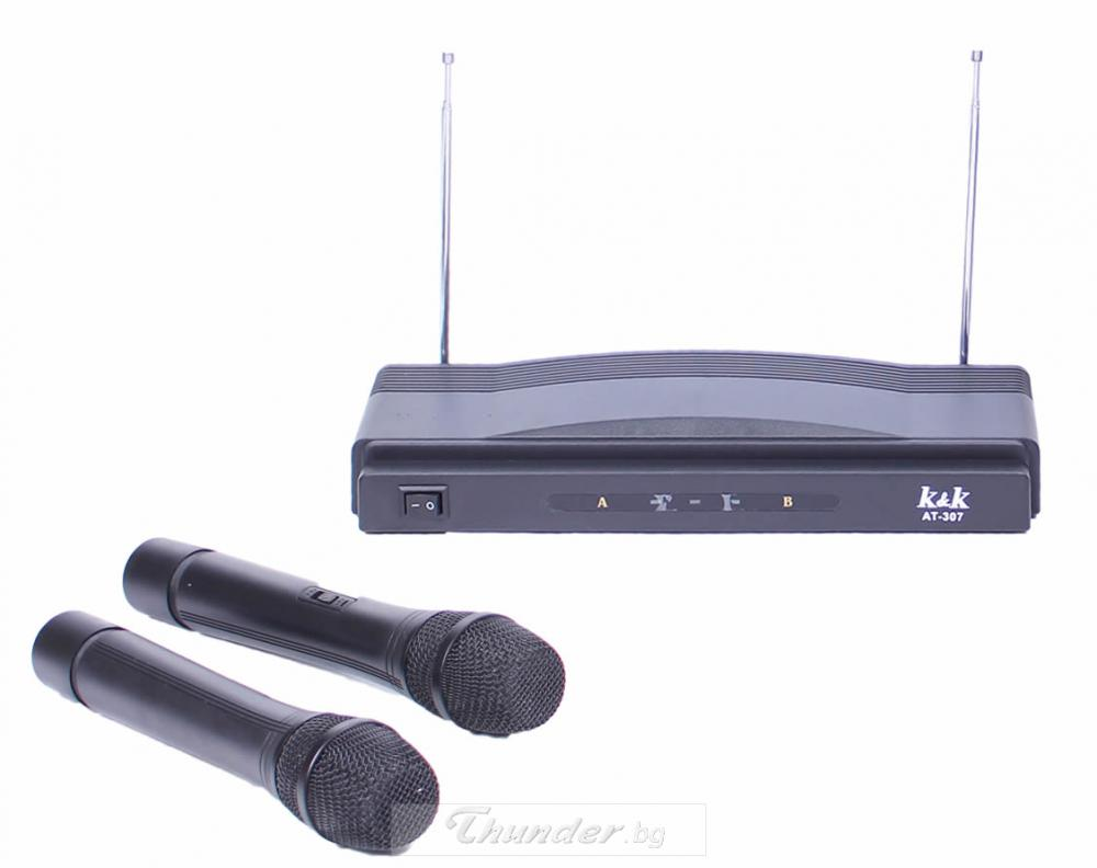 MICROPHONE WIRELESS AT-306 М�КРОФОН wireless at-306