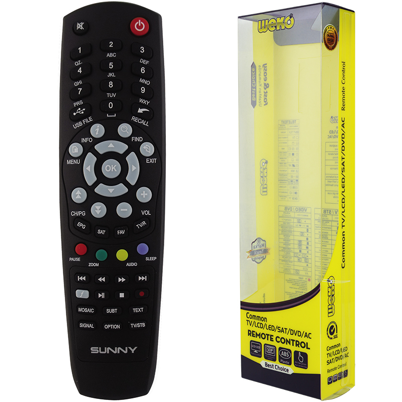 RC SAT UNI  AT-14200-14100 HD PVR unny At-14200-14100 HD PVR сателитен контролер