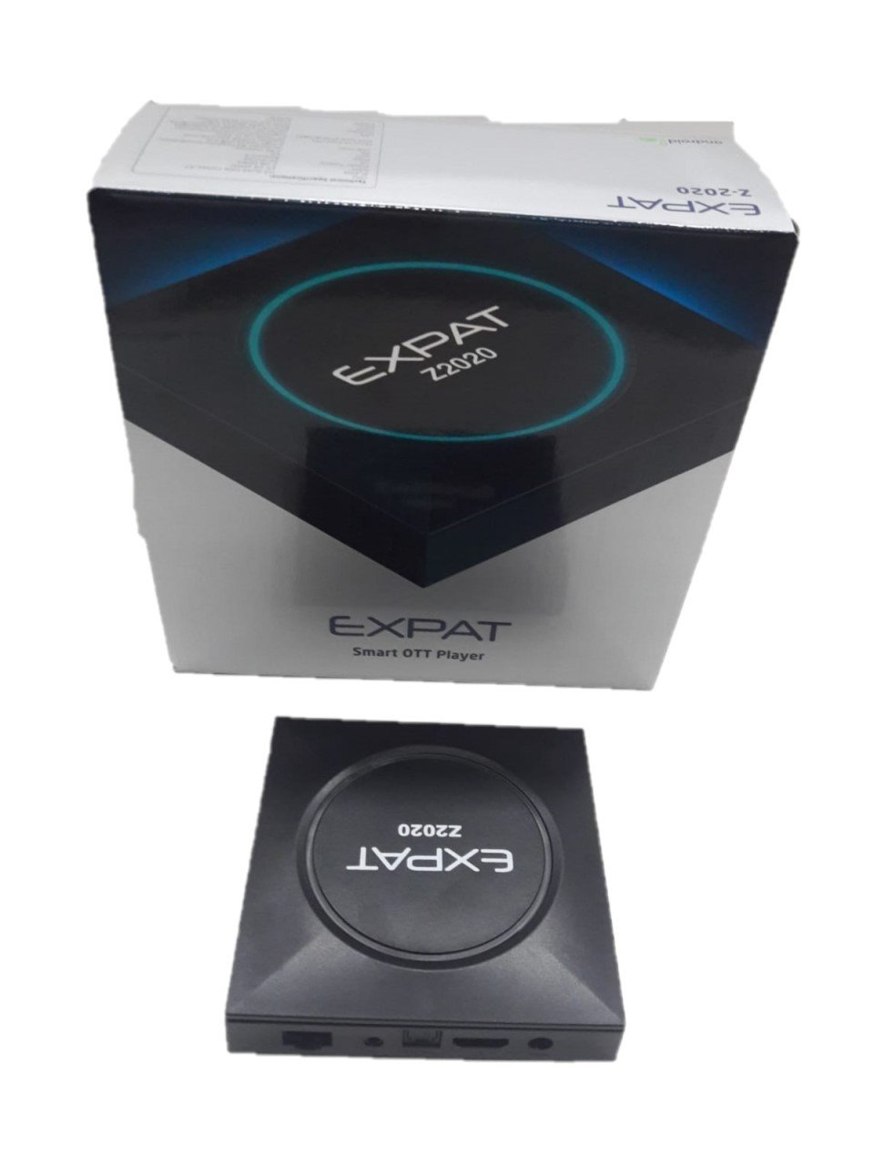 TV BOX EXPAT Z-2020 RAM 2GB DD3 ANDROID 9.0 TV BOX EXPAT Z-2020  Операционна система: Android 9.0