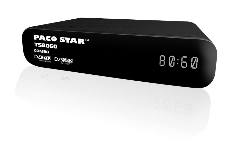 TUNER PACO TS8060 COMBO ТУНЕР PACO TS8060 COMBO /MPEG-4 DVB-T EFIR.CIFR.TUNER HD, SAT ДЕКОДЕР/
